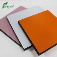 China Fireproof hpl solid core door laminate on sale
