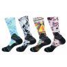China Polyester/ Spandex / Elastane  Make to order  3D-Printing Socks wholesale