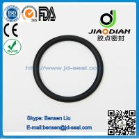 China NBR Black O Rings of size range AS 568, JIS2401 on Short Lead Time with SGS CE ROHS FDA Cetified(O-RINGS-0082) wholesale