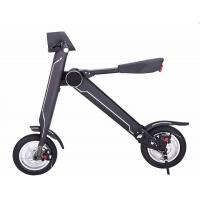 China Cool 36v HoverBoards Electric Scooters , 12 Inch Mini Folding Electric Bike wholesale
