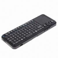 China Super Slim Wireless Bluetooth Keyboard with Touchpad on sale