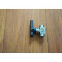 China Polyurethane Sprayer Replacement Parts 2 Way Ball Valve Ce Certificated wholesale