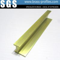 China Shining Copper Extruded Profiles Brass Extruding Window Head Sections wholesale