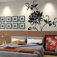 Fashionable Wall Sticker, Measures 60 x 90cm, Nontoxic and Eco-friendly