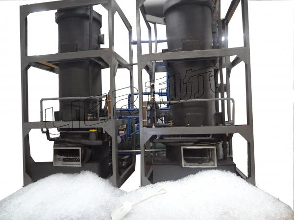 Quality Máquina de hielo profesional del tubo/máquina del fabricante de hielo del tubo 18 meses de garantía for sale