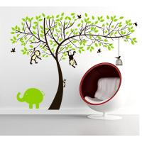 China New Wall Stickers/ DIY Removable New Wall Sticker Wall Home Decor Art Monkey And Tree Decal Mural Paper in China wholesale