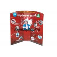 China Early Learning Musical Instruments Custom Standee Cardboard Point Of Sale Display Stands wholesale