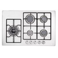 China Popular Five Ring Gas Hob / 5 Burner Gas Stove With Safety Device Auto Ignition wholesale