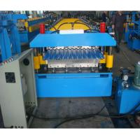 China Double layer steel roofing sheet roll forming machine manufacturer wholesale