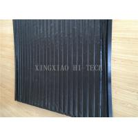 China PVC Machine Protection Fabric Expansion Joint Covers / Connection Black Color wholesale