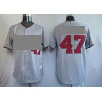 China Baseball Jerseys, Grey Jerseys wholesale