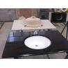 China China black granite vanity with basin wholesale