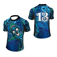 China Customized authentic rugby training league jerseys sublimation rugby jersey wholesale