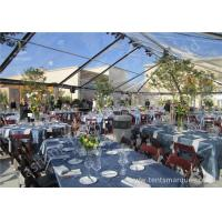 China Transparent PVC Fabric Cover Luxury Wedding Tents for Parties With Aluminum Alloy Frame wholesale