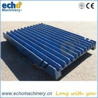 China high manganese Kleeman Mobicat 120Z jaw crusher spare parts jaw plate for quarry crushing wholesale