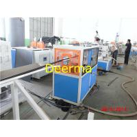 China Automatic Plastic Pipe Extrusion Line , HDPE Pipe Manufacturing Machines wholesale