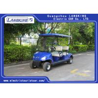 China Mini 4 Wheel 4 Person Electric Club Car Golf Carts With 48V Battery Powered wholesale