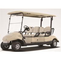 China Electric 4 Person Golf Cart , 4 Seater Golf Buggy Club Car With Brake System wholesale