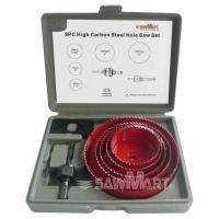 China 8PC High Carbon Steel Hole Saw Set-Grinding teeth on sale