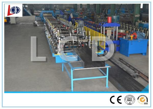 Quality Touch Screen Control Cable Tray Roll Forming Machine 380V Hydraulic Cutting for sale