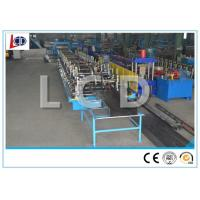 China Touch Screen Control Cable Tray Roll Forming Machine 380V Hydraulic Cutting wholesale