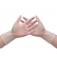 China medical Long Cuff Insulated Disposable PVC Gloves on sale