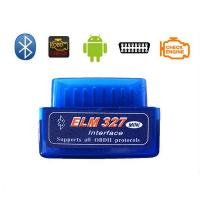 China Android V2.1 ELM327 OBD Interface Bluetooth puter Code Reader wholesale