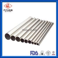 China Seamless Sanitary  Round Pipe Thin Wall Steel Tubing 0.25m-16mm Thickness wholesale