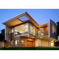 Luxurious Prefabricated Steel House / Light Steel Frame Prefab Metal House ETC