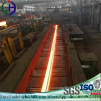 China Material Q235 Railroad Steel Rail AISI ASTM With Excellent Mechanical Property wholesale