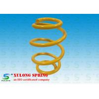 China OEM Yellow Barrel Custom Automotive Coil Springs , Car Suspension Springs wholesale