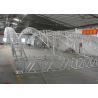Arc shape Aluminum Stage Lighting Truss With High Welding Technology