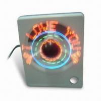 China Desktop LED Fan, Powered by Computer USB, Measuring 14.2 x 10.9 x 6.5cm wholesale