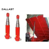 China Agricultural Dump Trailer Hydraulic Cylinder Multi Stage TS16949 Certification wholesale