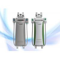 China Multifunction Cryolipolysis Slimming Machine / Cryo RF Cavitation Vacuum Fat Reducing Machine wholesale
