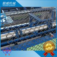 Buy cheap 0.5m - 4.2m Full Automatic Chain Link Fencing Machine 5.5KW Power from wholesalers