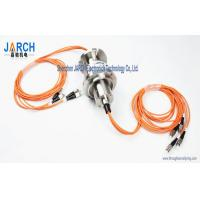 China 4 Channel  1000rpm for Multi-mode Fibre Optic Slip Ring/FORJ Stainless Steel Housing wholesale