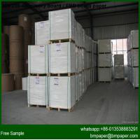 China 190gsm 210gsm white cardboard paper sheets for making business card wholesale