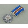 China Die Struck Antique Copper Police Medals , Law Enforcement 10K Running Medals wholesale