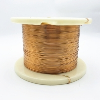 China 1.0 * 0.5 mm Amide-imide Super Thin Flat Magnet Wire Rectangular Enameled Copper Wire wholesale