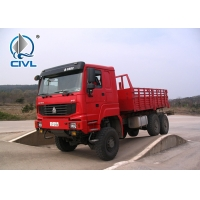 China Hot Sale Sinotruk Howo 6x6 Drive Wheel New 3 Axles All Wheel Drive Cargo Truck wholesale