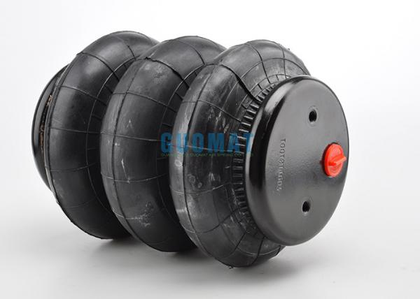 Quality GUOMAT 3B10X7 Pneumatic Air Spring Actuator / Triple Bellow Air Bag for sale