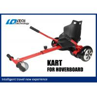 Most Popular 6.5 Inch Hoverboard Go Kart , Red Hover Kart For Hoverboard