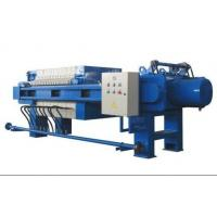 China Plate And Frame Filter Press Operation , Vertical Filter Press Hydraulic System on sale