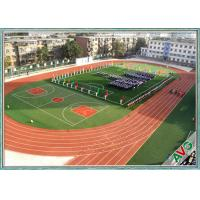 China Excellent Anti - Wear Performance Football Synthetic Grass Mixing Double Green wholesale