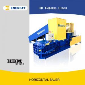 China Hydraulic Horizontal Cardboard Baling Machine with UK Brand wholesale