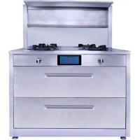 China Integrated Stove with Disinfection Cabinet and Range Hoods on sale