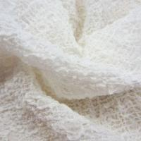China Silk Crinkle Crepe, Boiled Off White/Woven Fabric, Weighs 9 to 22mm, Fits for Ladies' Garments Use on sale
