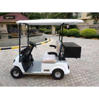 China Aluminum Chassis 48V Two Seaters Electric Mini Golf Car For Portable Valuables wholesale