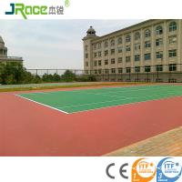 China Customized Blue Surface Outdoor Sport Court Flooring For Tennis Game wholesale